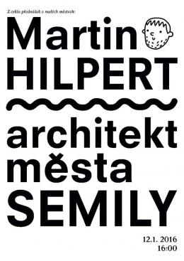 12.1.2016 - architekt města Semily, přednáška na FA v Liberci