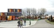 Novostavba bytových domů v Bradleci