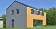 Novostavba dvou rodinných domů ve Vesci v Liberci