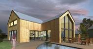 Novostavba rodinného domu s kadeřnictvím v Liberci
