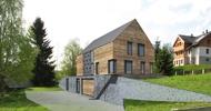Novostavba rodinného domu v Jizerských horách